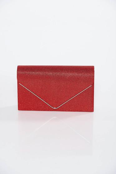 Piros alkalmi táska