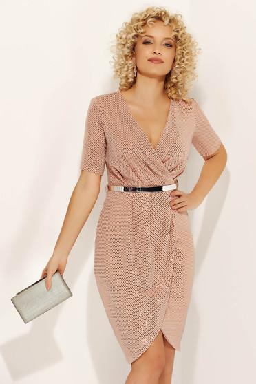 Rózsaszínű Fofy ruha