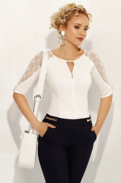 Fehér Fofy női ing