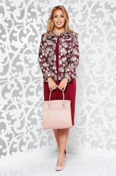 43f77d3e63 Burgundy elegáns női kosztüm rugalmatlan szövet